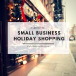 Small Business-Holiday Shopping