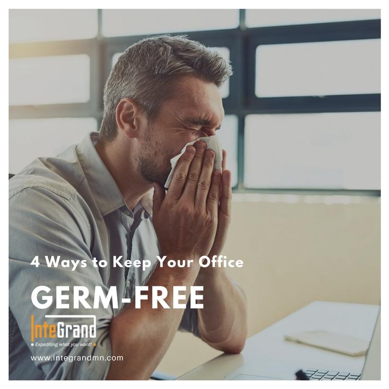 4 Ways to Keep Office Germ Free
